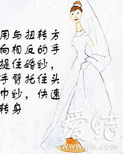 图解新郎新娘婚礼礼仪